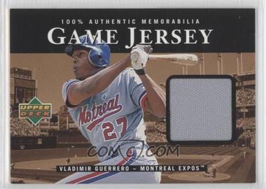 2000 Upper Deck Game Jersey #C-VG - Vladimir Guerrero