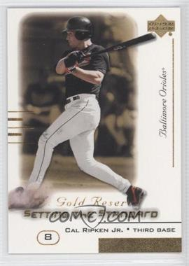 2000 Upper Deck Gold Reserve [???] #S4 - Cal Ripken Jr.