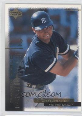 2000 Upper Deck Gold Reserve Solid Gold Gallery #G5 - Derek Jeter