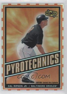 2000 Upper Deck Ionix Pyrotechnics #P8 - Cal Ripken Jr.
