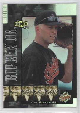 2000 Upper Deck Ionix Reciprocal #R35 - Cal Ripken Jr.
