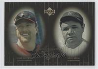 Babe Ruth, Mark McGwire