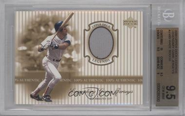 2000 Upper Deck Legends Legendary Game Jerseys #J-WB - Wade Boggs [BGS 9.5]