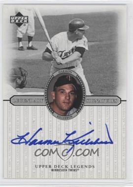 2000 Upper Deck Legends Legendary Signatures #S-HK - Harmon Killebrew