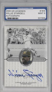 2000 Upper Deck Legends Legendary Signatures #S-WS - Willie Stargell [ENCASED]