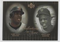 Willie Mays, Barry Bonds