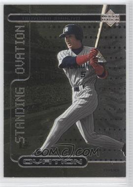 2000 Upper Deck Ovation Japan [???] #SO5 - Tsuyoshi Shinjo /2500