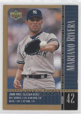 2000 Upper Deck Subway Series #NY10 - Mariano Rivera