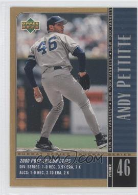 2000 Upper Deck Subway Series #NY8 - Andy Pettitte