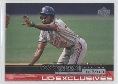 2000 Upper Deck UD Exclusives Silver #162 - Wilton Guerrero /100