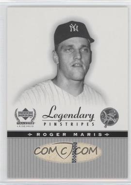 2000 Upper Deck Yankee Legends - Legendary Pinstripes #RM-LP - Roger Maris