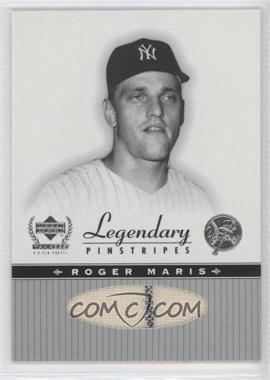 2000 Upper Deck Yankee Legends [???] #RM-LP - Roger Maris