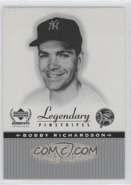 2000 Upper Deck Yankee Legends Legendary Pinstripes #BR-LP - Bobby Richardson