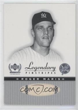 2000 Upper Deck Yankee Legends Legendary Pinstripes #RM-LP - Roger Maris