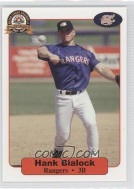 2001 Arizona Fall League Prospects - [Base] #1 - Hank Blalock