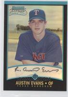 Rookie Refractors - Austin Evans