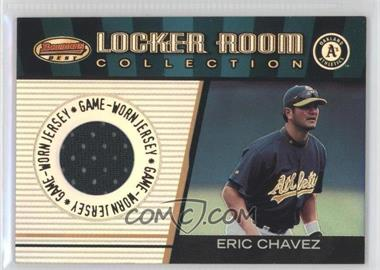 2001 Bowman's Best - Locker Room Collection Jerseys #LRCJ-EC - Eric Chavez