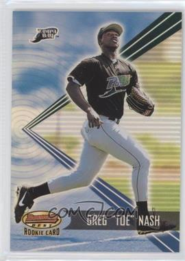 2001 Bowman's Best #164 - Greg Nash /2999
