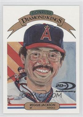 2001 Donruss - Diamond Kings Reprints #DKR-5 - Reggie Jackson /1983