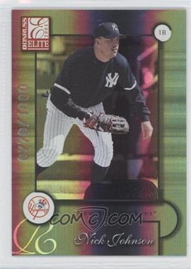 2001 Donruss Elite - [Base] #170 - Nick Johnson /1000