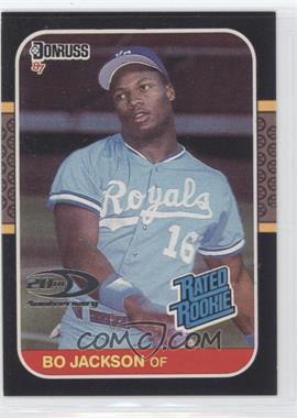 2001 Donruss Rookie Reprints #20 - Bo Jackson /1987