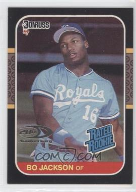 2001 Donruss Rookie Reprints #RR20 - Bo Jackson /1987