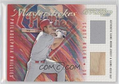 2001 Donruss Studio [???] #MS-22 - Scott Rolen /200