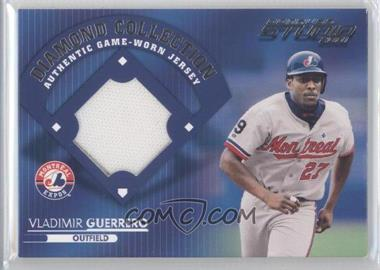 2001 Donruss Studio Diamond Collection #DC-1 - Vladimir Guerrero