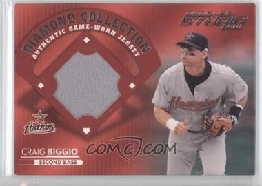 2001 Donruss Studio Diamond Collection #DC-50 - Craig Biggio