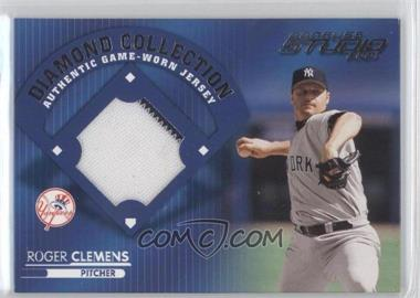 2001 Donruss Studio Diamond Collection #DC-7 - Roger Clemens