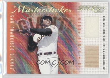 2001 Donruss Studio Master Strokes #MS-12 - Barry Bonds /200