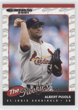 2001 Donruss The Rookies #R97 - Albert Pujols