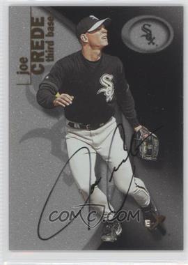 2001 EX - [Base] - Prospect Autographs [Autographed] #107 - Joe Crede /2499
