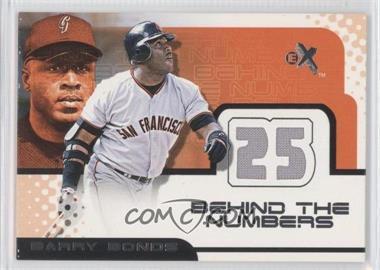 2001 EX [???] #N/A - Barry Bonds