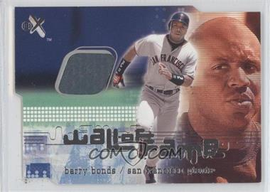 2001 EX Wall of Fame #BABO - Barry Bonds