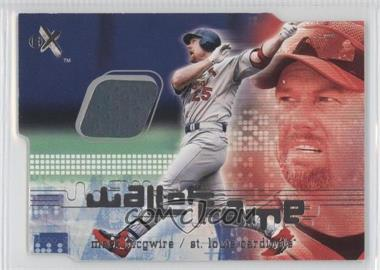2001 EX Wall of Fame #N/A - Mark McGwire