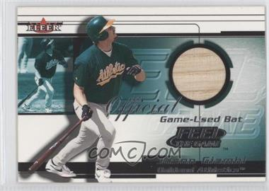 2001 Fleer [???] #N/A - Jason Giambi