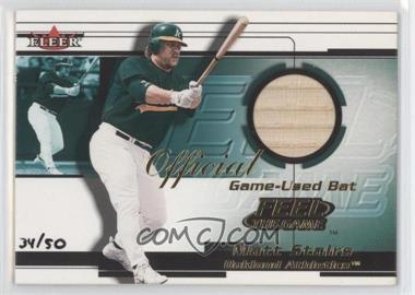 2001 Fleer Feel The Game Gold #N/A - Matt Stairs /50