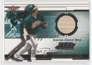 2001 Fleer Feelr the Game Bats Multi-Product Insert [Base] #JAGI - Jason Giambi