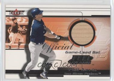 2001 Fleer Feelr the Game Bats Multi-Product Insert [Base] #PHNE - Phil Nevin