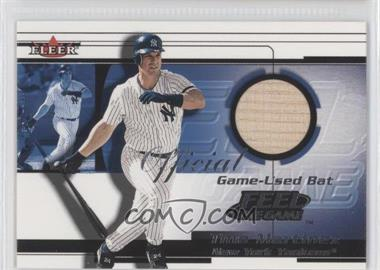 2001 Fleer Feelr the Game Bats Multi-Product Insert [Base] #TIMA - Tino Martinez