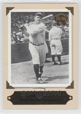 2001 Fleer Greats of the Game [???] #1RC - Babe Ruth