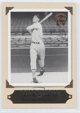 2001 Fleer Greats of the Game [???] #5RC - Ted Williams