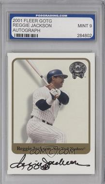 2001 Fleer Greats of the Game Autographs #N/A - Reggie Jackson [ENCASED]