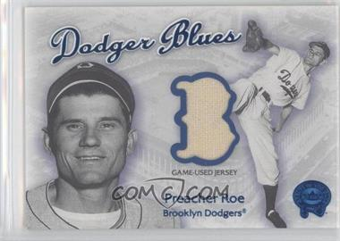 2001 Fleer Greats of the Game Dodger Blues #N/A - Preacher Roe