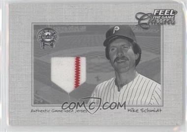 2001 Fleer Greats of the Game Feel the Game Classics #N/A - Mike Schmidt