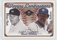 Babe Ruth, Reggie Jackson