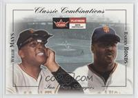 Willie Mays, Barry Bonds /500