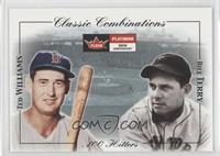 Ted Williams, Bill Terry /2000