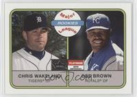 Chris Wakeland, Dee Brown /21